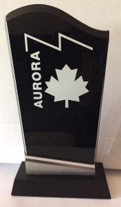 2020 aurora award tropy